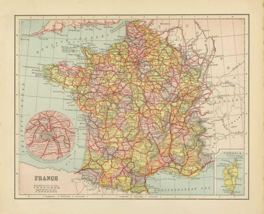 French Map II Babbitt, Gwendolyn 143225