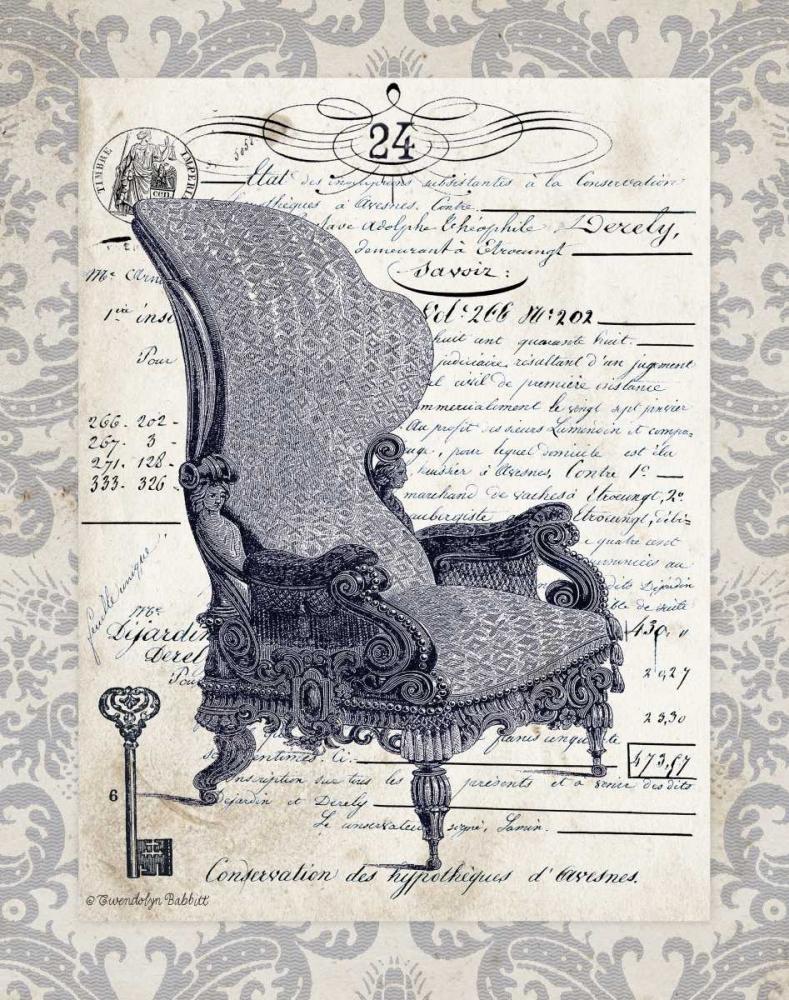 Indigo Chair I Babbitt, Gwendolyn 143238
