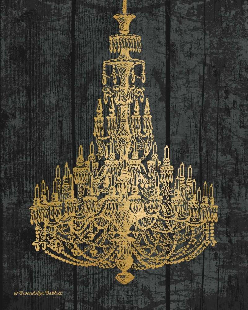 Gold Chandelier I Babbitt, Gwendolyn 143290