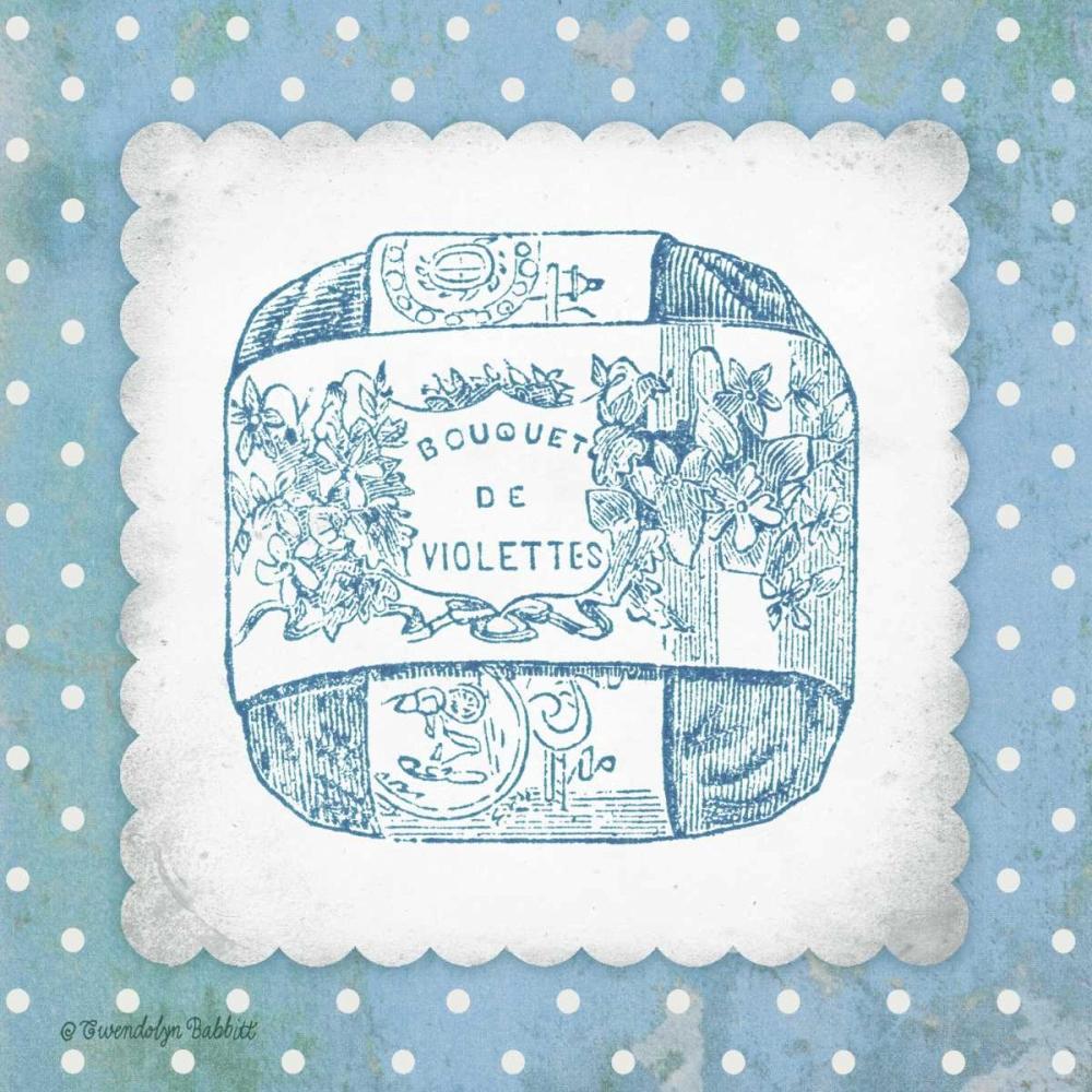 French Soap Blue II Babbitt, Gwendolyn 143369