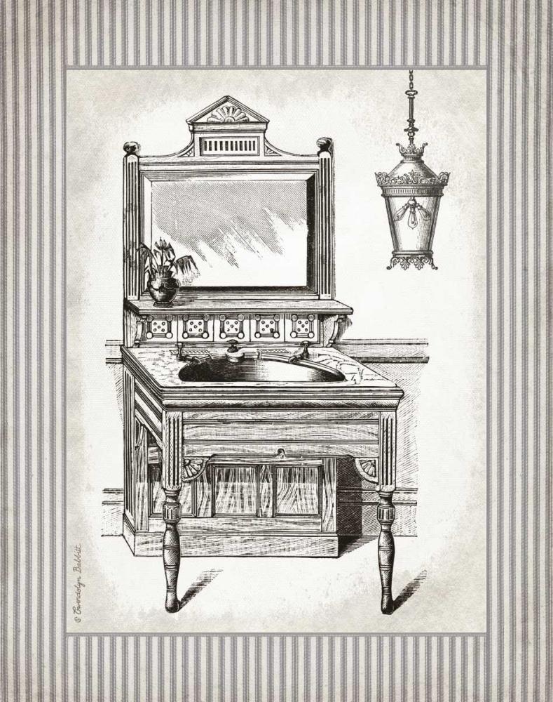Victorian Sink Stripes I Babbitt, Gwendolyn 164154
