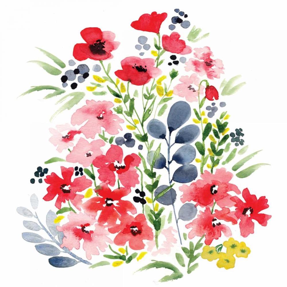 Spring Blooms Sq II Berrenson, Sara 143563