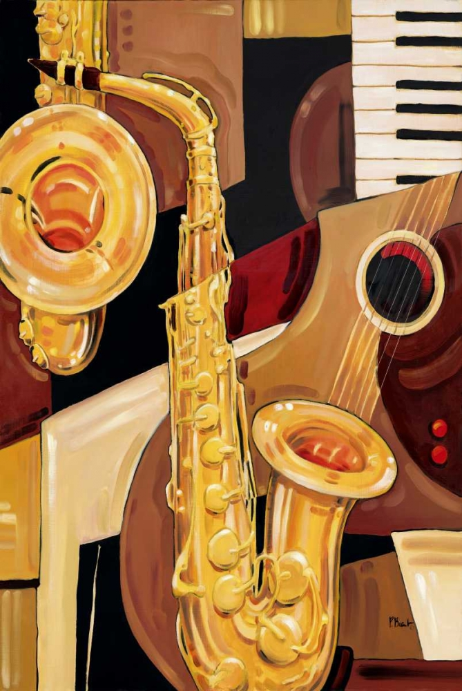 Abstract Sax Brent, Paul 4188