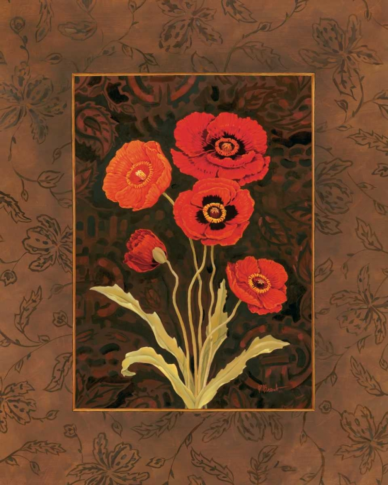 Damask Poppy Brent, Paul 4207