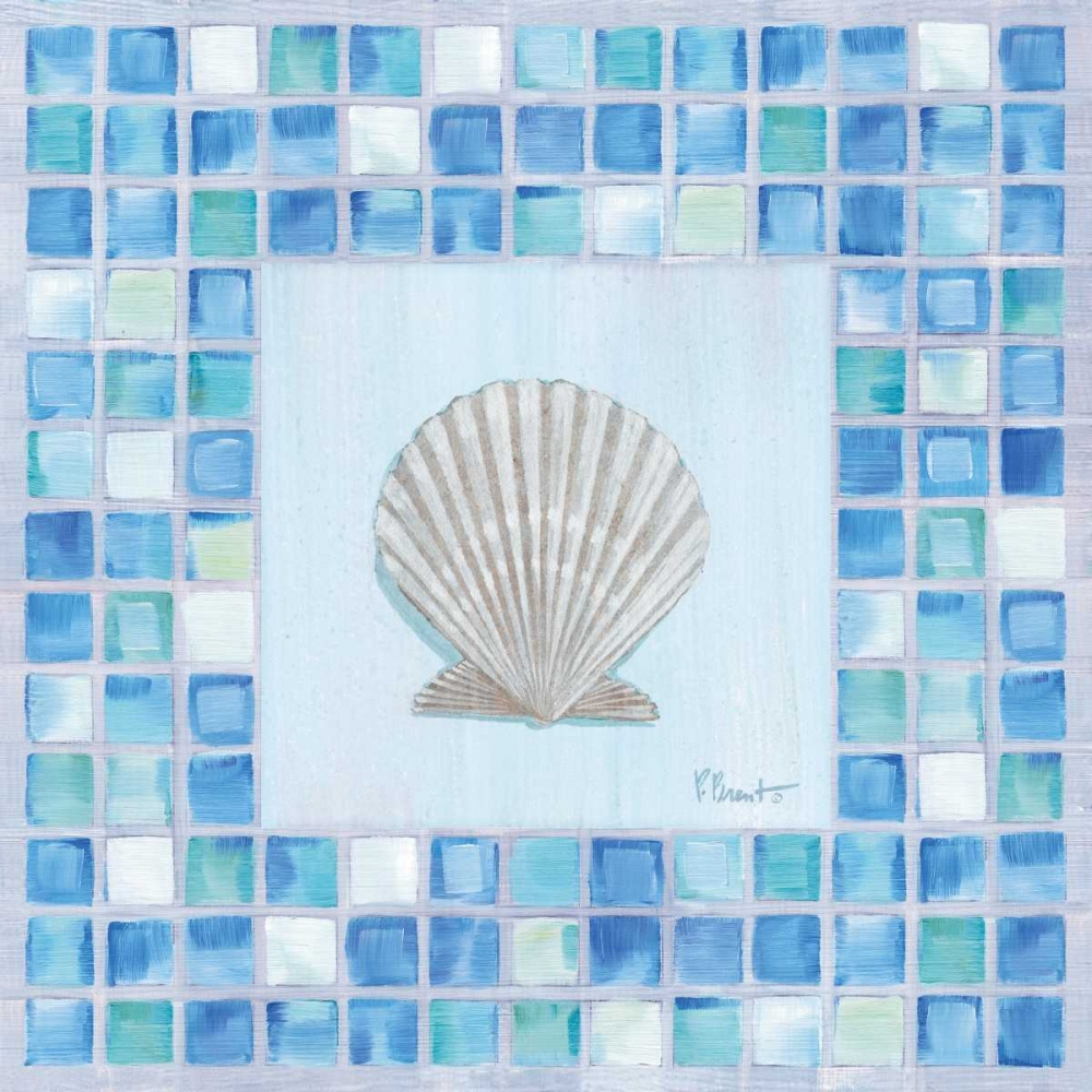 Mosaic Scallop Brent, Paul 4219
