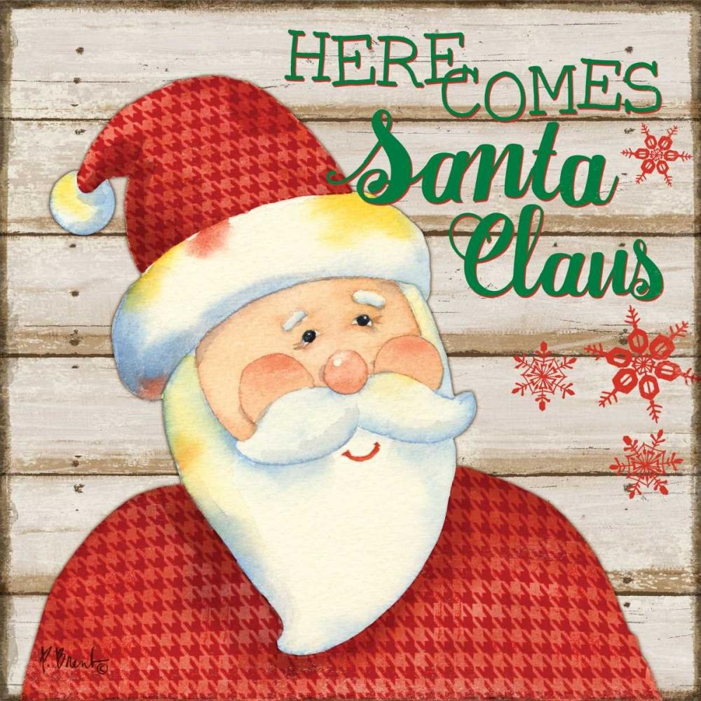 Jolly Santa I Brent, Paul 143971