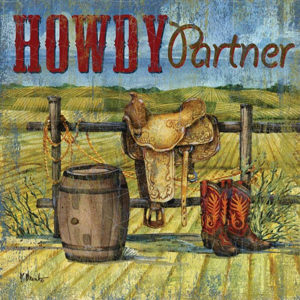 Howdy Partner I Brent, Paul 144073