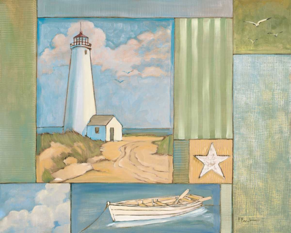 Lighthouse Collage I Brent, Paul 4242