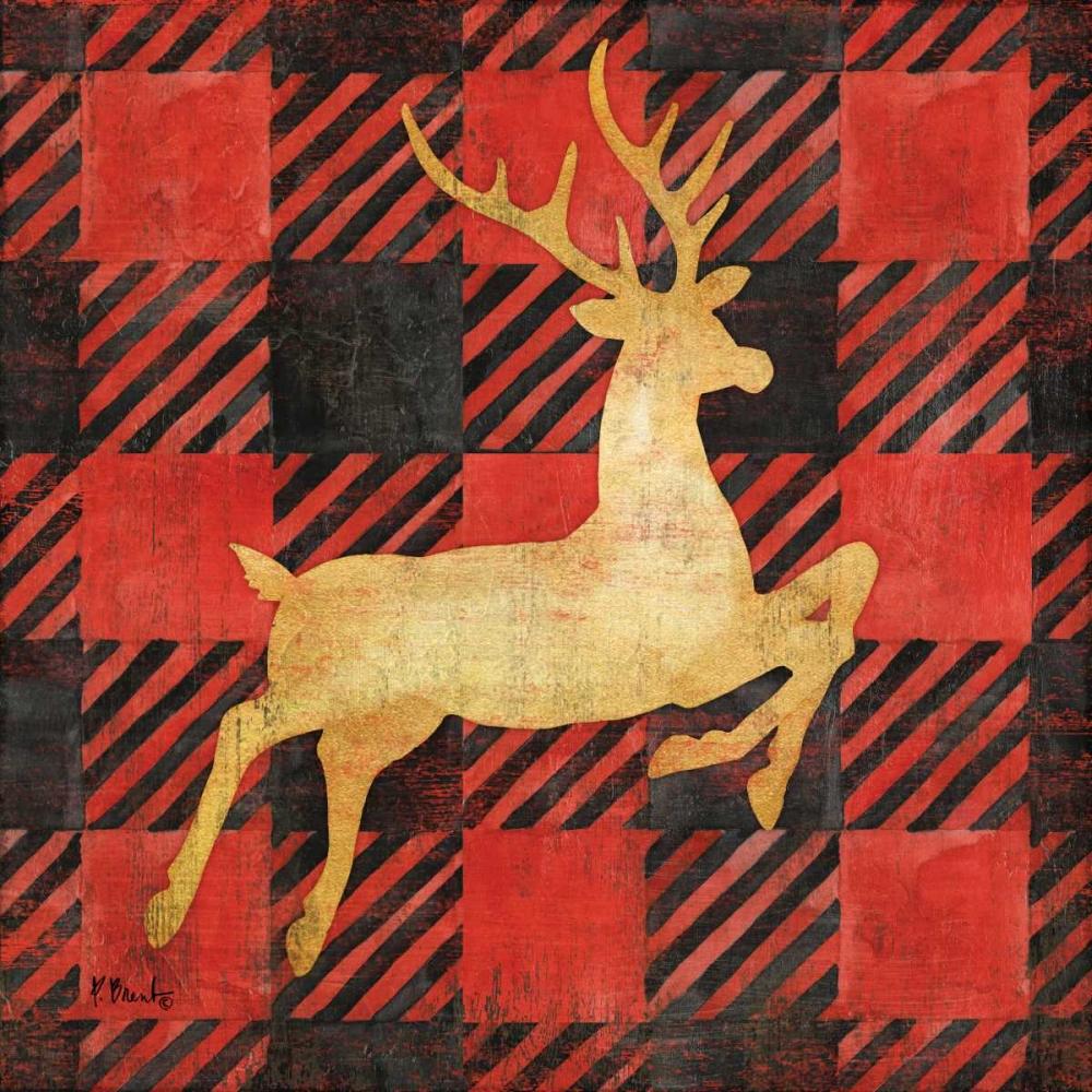 Buffalo Check Reindeer I Brent, Paul 164110