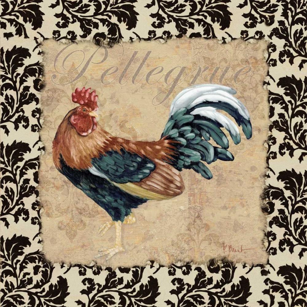 Bergerac Rooster Black II Brent, Paul 4321