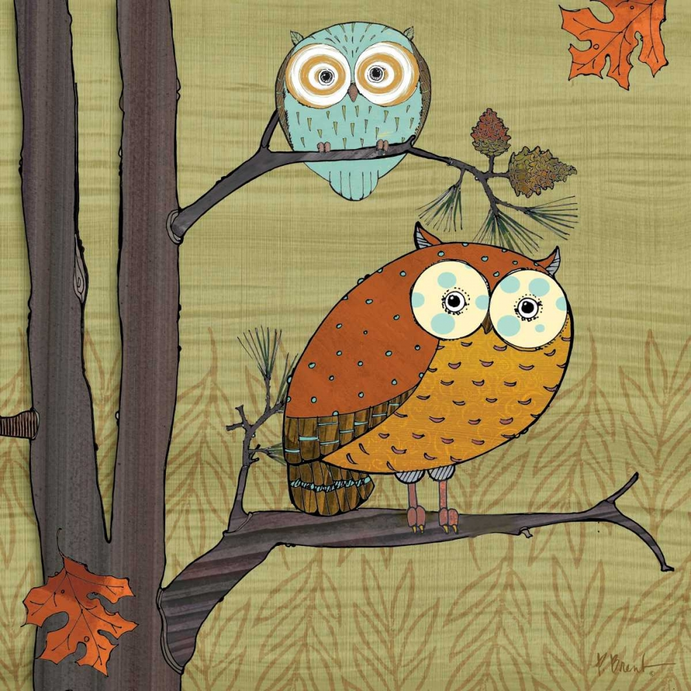 Awesome Owls I Brent, Paul 4407