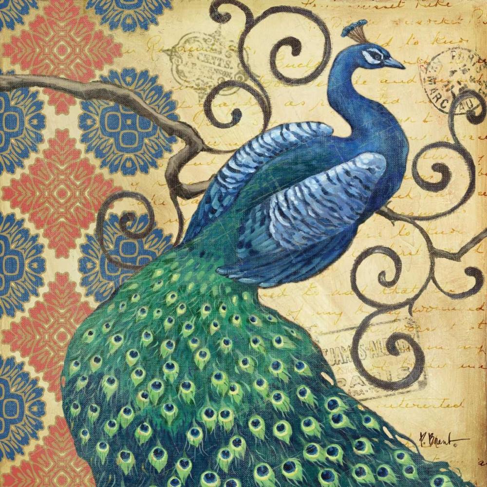 Peacocks Splendor I Brent, Paul 19630