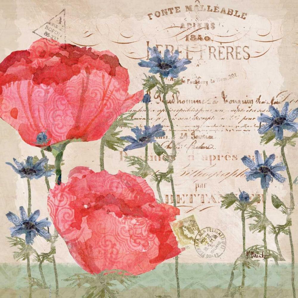 Parisian Peonies I Brent, Paul 143649