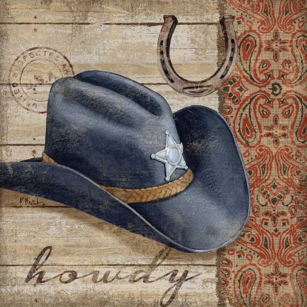 Wild West Hats I Brent, Paul 143768