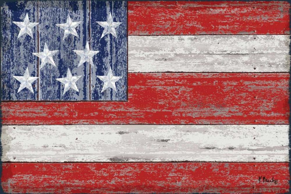 American Flag Brent, Paul 82760