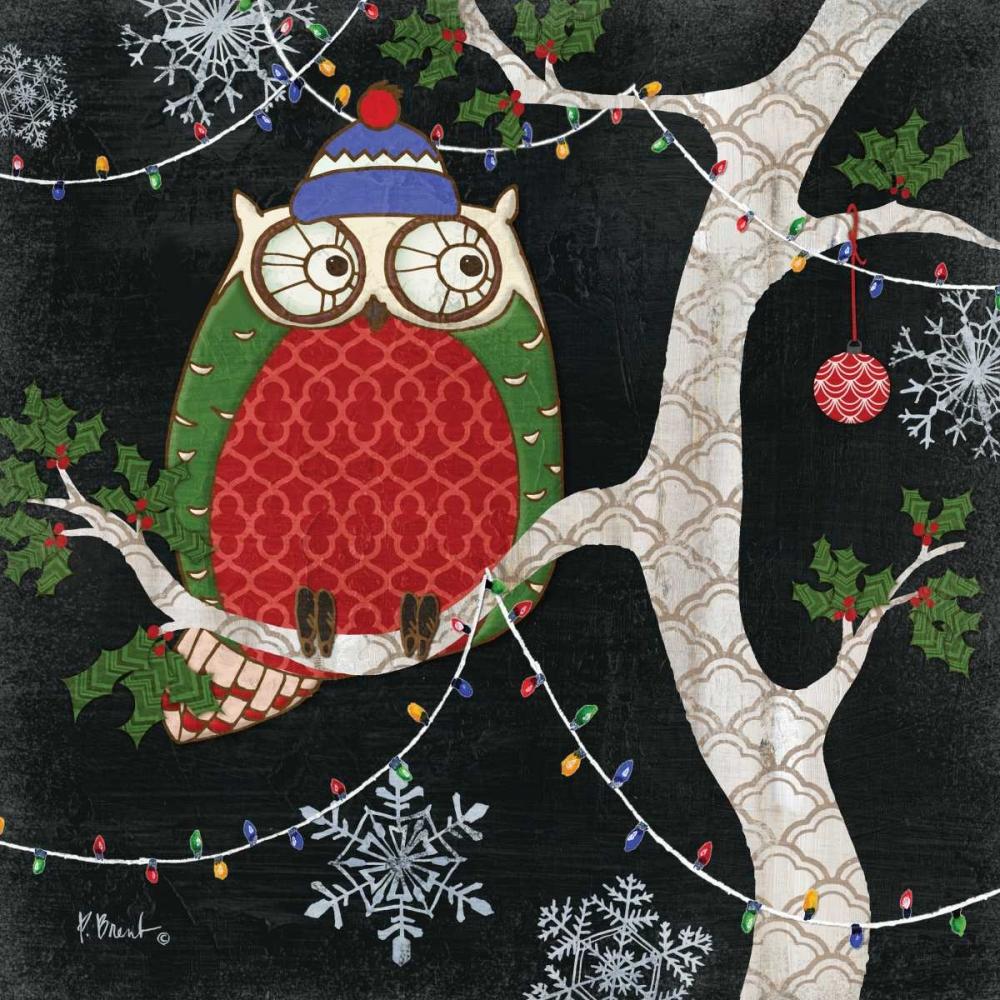 Winter Fantasy Owls II Brent, Paul 143814