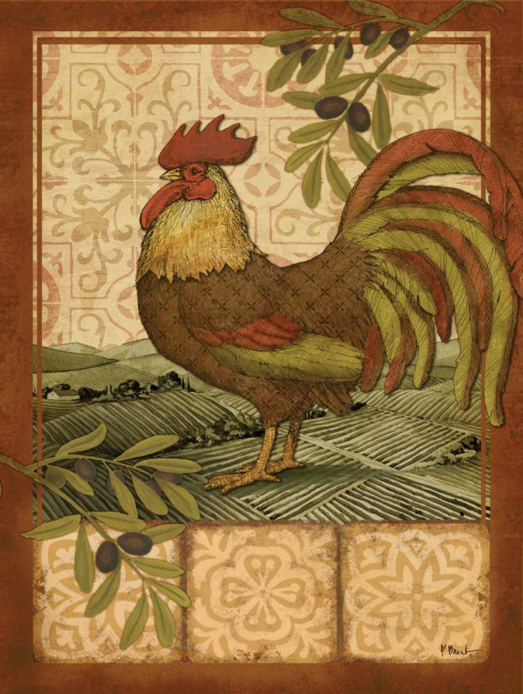 Tuscan Rooster I Brent, Paul 143828
