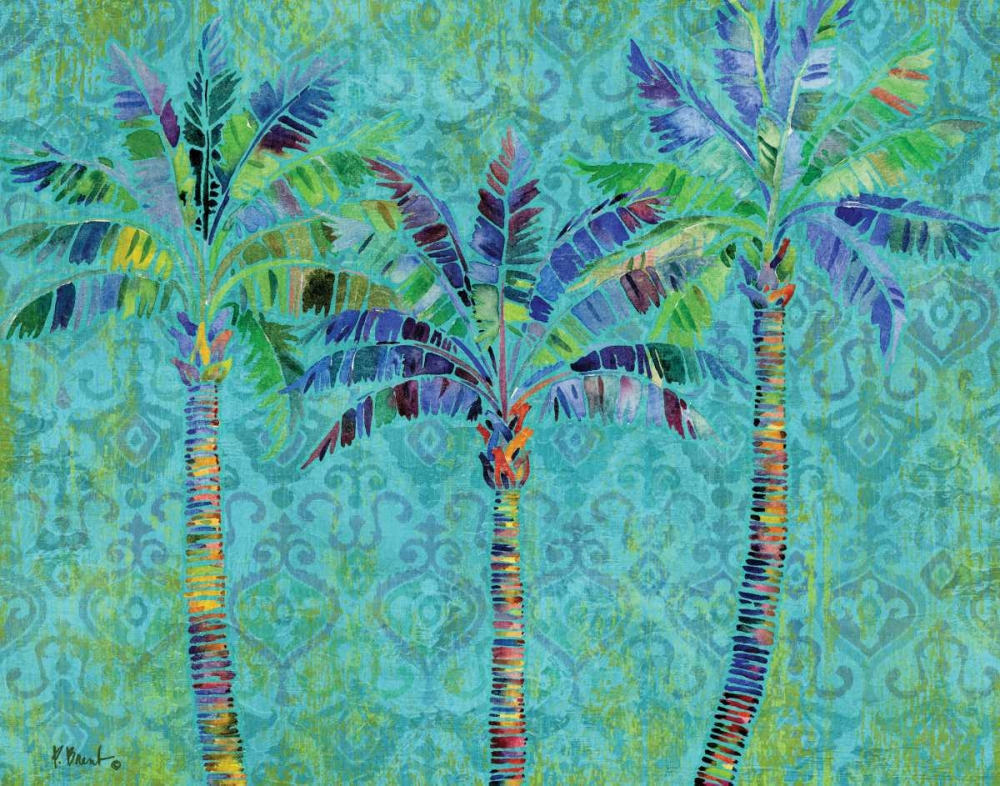 Paradise Palms Turquoise Brent, Paul 143865