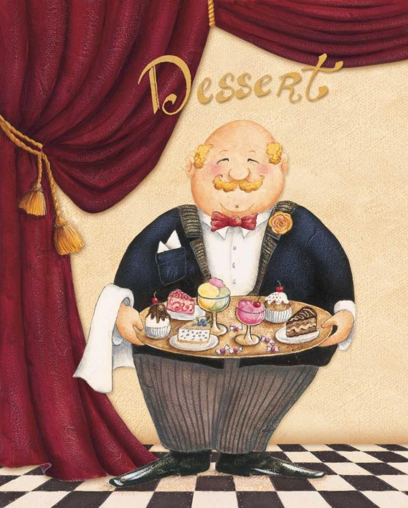The Waiter - Dessert Brissonnet, Daphne 4458