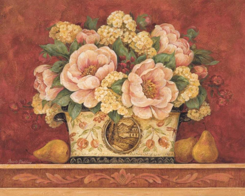 Peony Tapestry Gladding, Pamela 4680