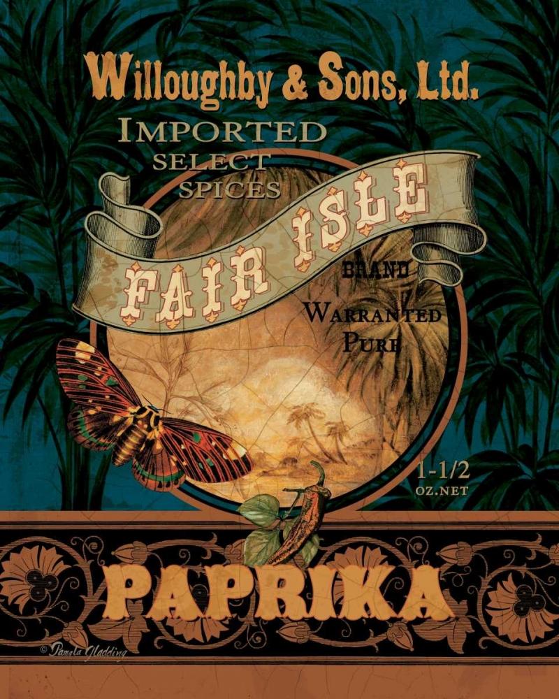 Paprika Gladding, Pamela 6813