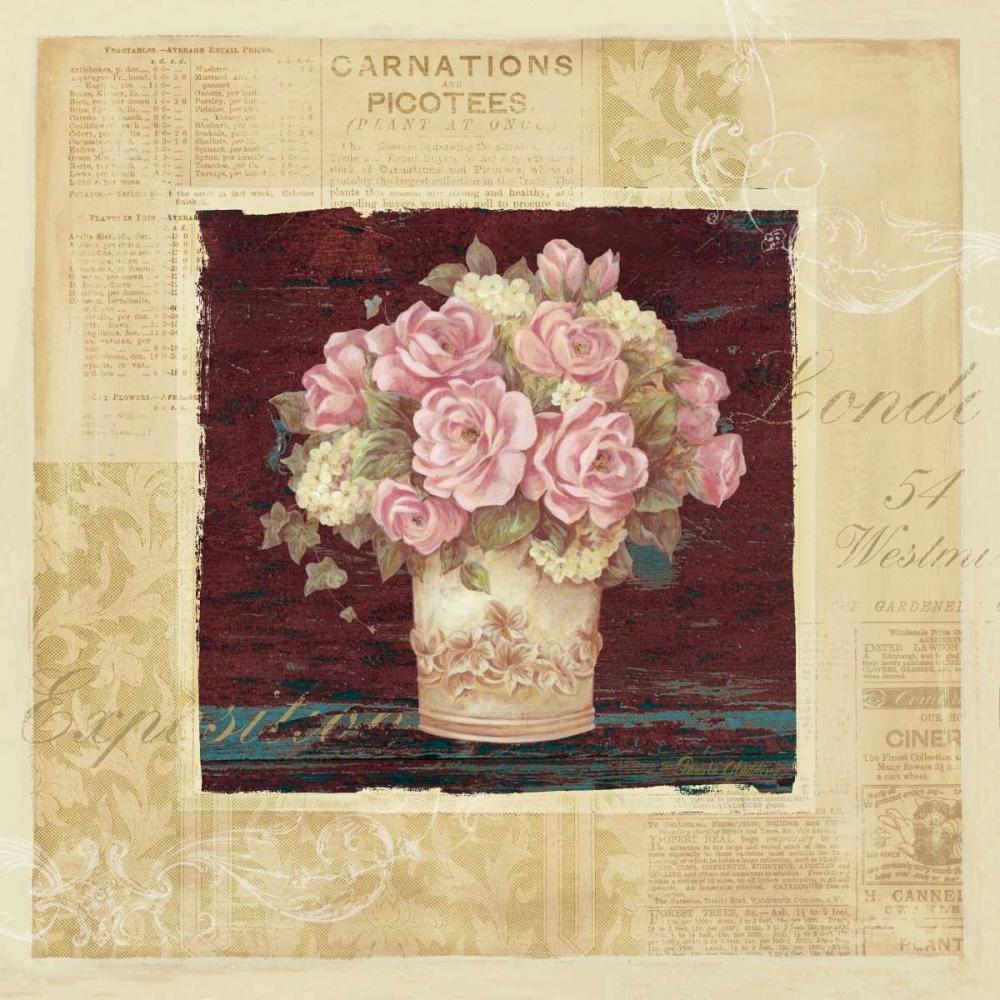 Vintage Rose Pink Gladding, Pamela 4790
