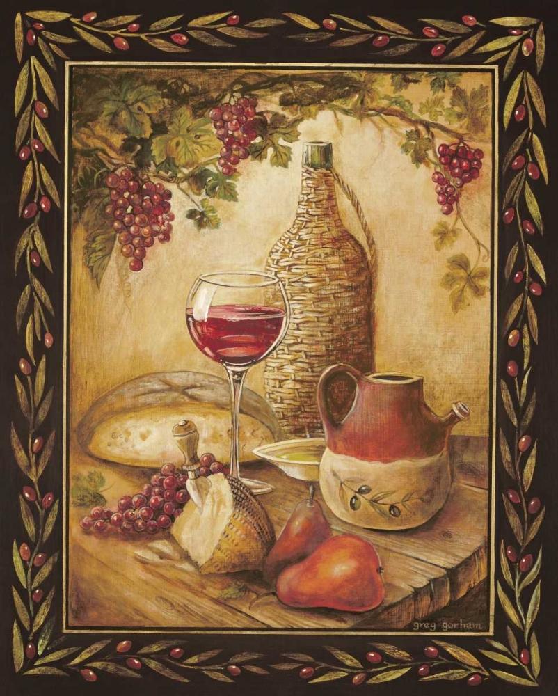 Tuscan Table - Chianti Gorham, Gregory 5003