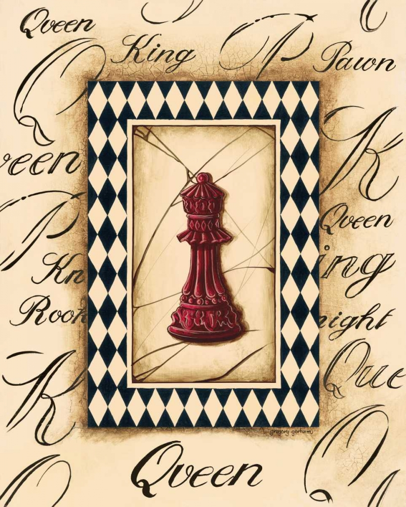 Chess Queen Gorham, Gregory 5019