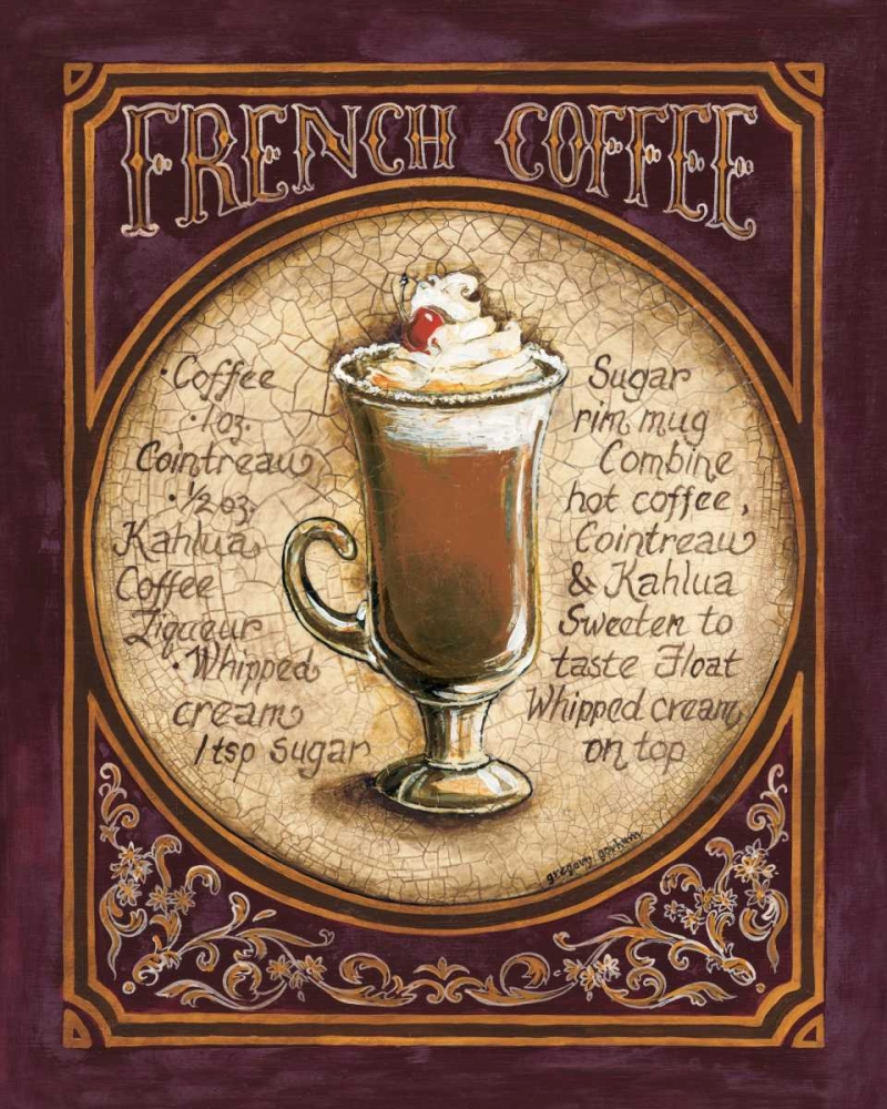 French Coffee Gorham, Gregory 5035