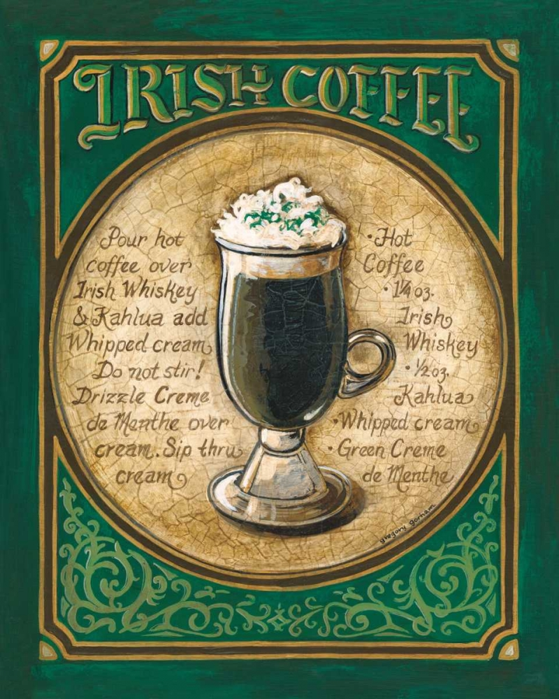 Irish Coffee Gorham, Gregory 5037