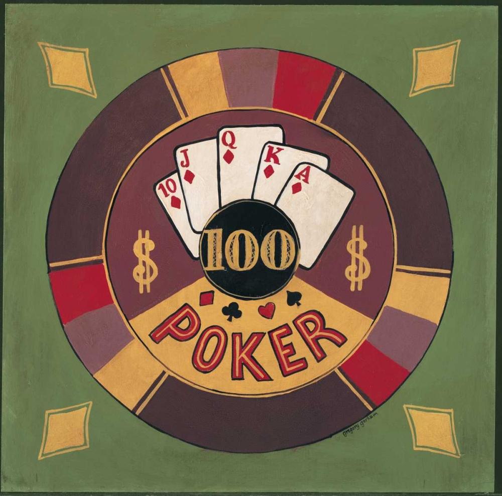 Poker - $I00 Gorham, Gregory 5043