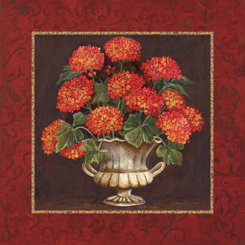 Geraniums II Gorham, Gregory 5061