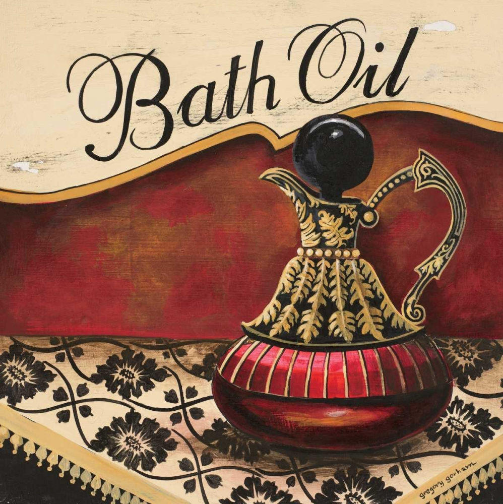 Bath Oil Gorham, Gregory 5069