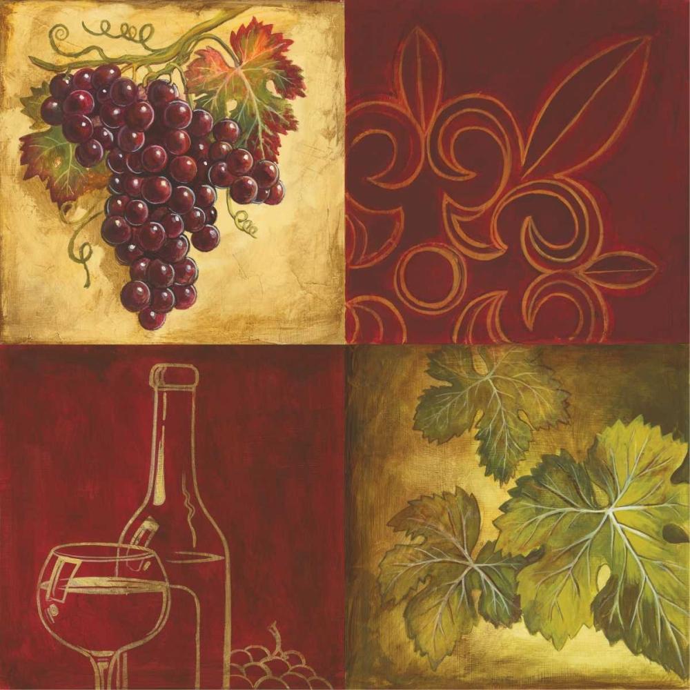 Wine Collage II Gorham, Gregory 29034
