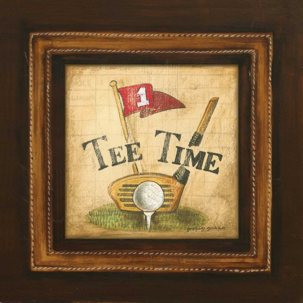 Golf Tee Time Gorham, Gregory 5160