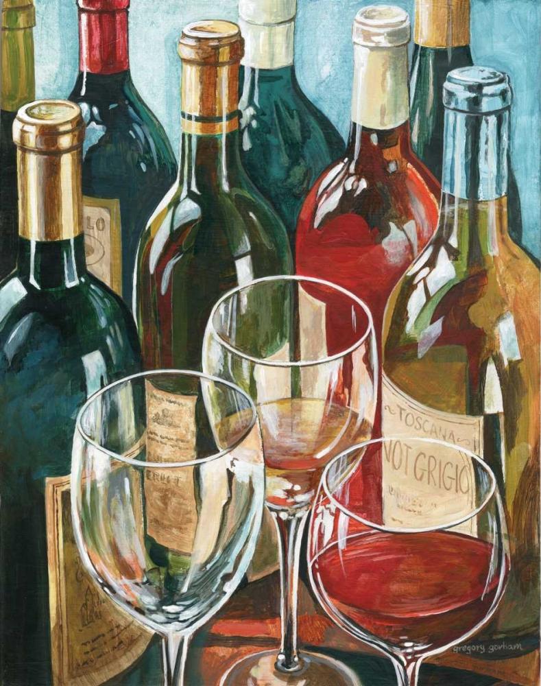 Wine Reflections I Gorham, Gregory 5161