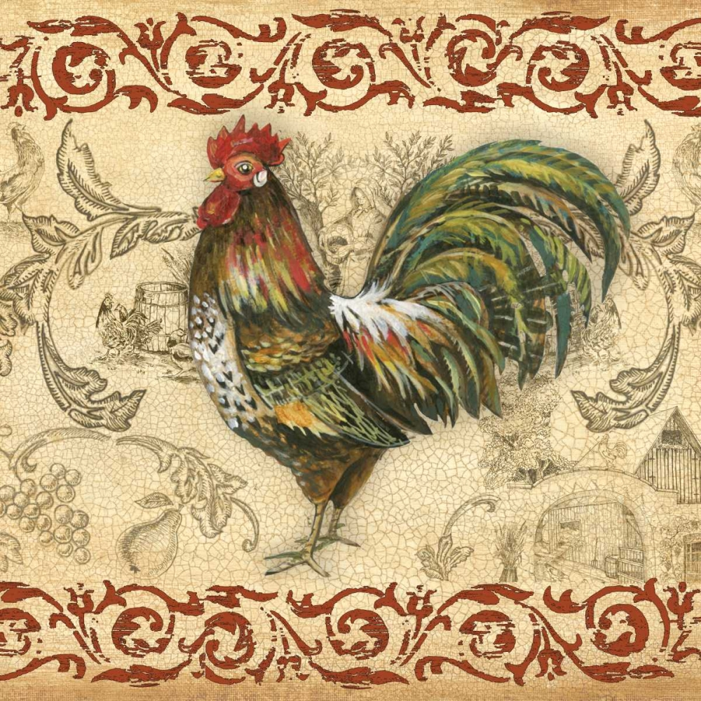 Toile Rooster IV Gorham, Gregory 29042