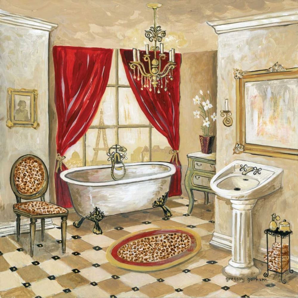 Leopard Parisian Bath Gorham, Gregory 5189