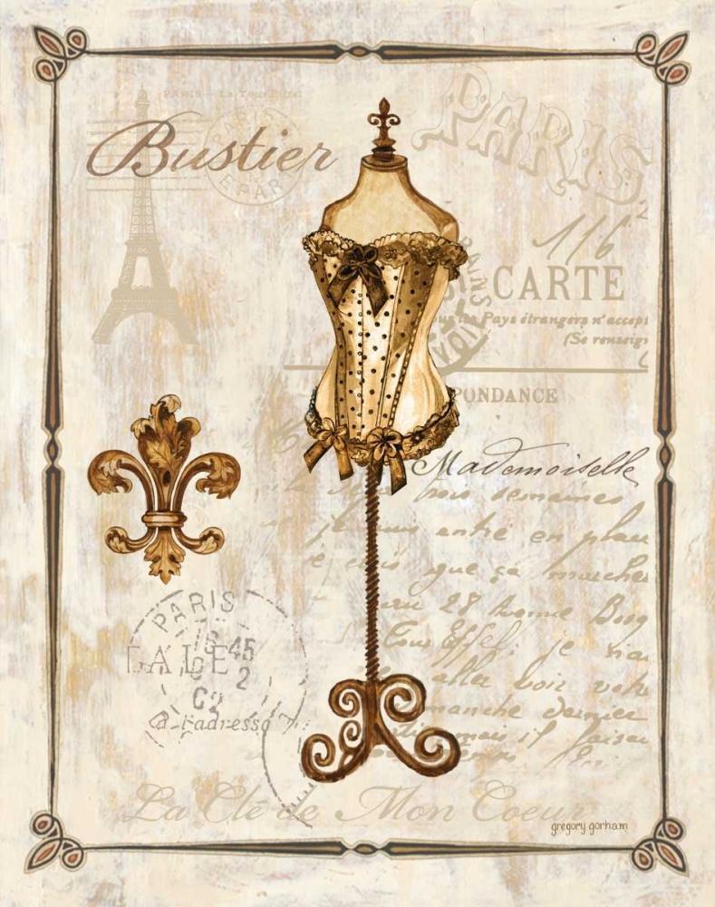 Paris Bustier Gorham, Gregory 9378
