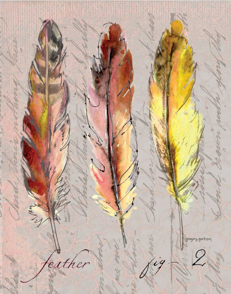 Three Feathers II Gorham, Gregory 144392