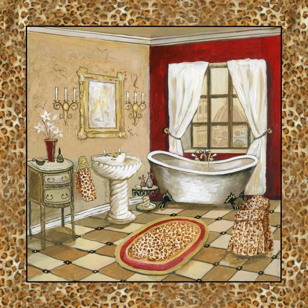 Leopard Florentine Bath II Gorham, Gregory 144404