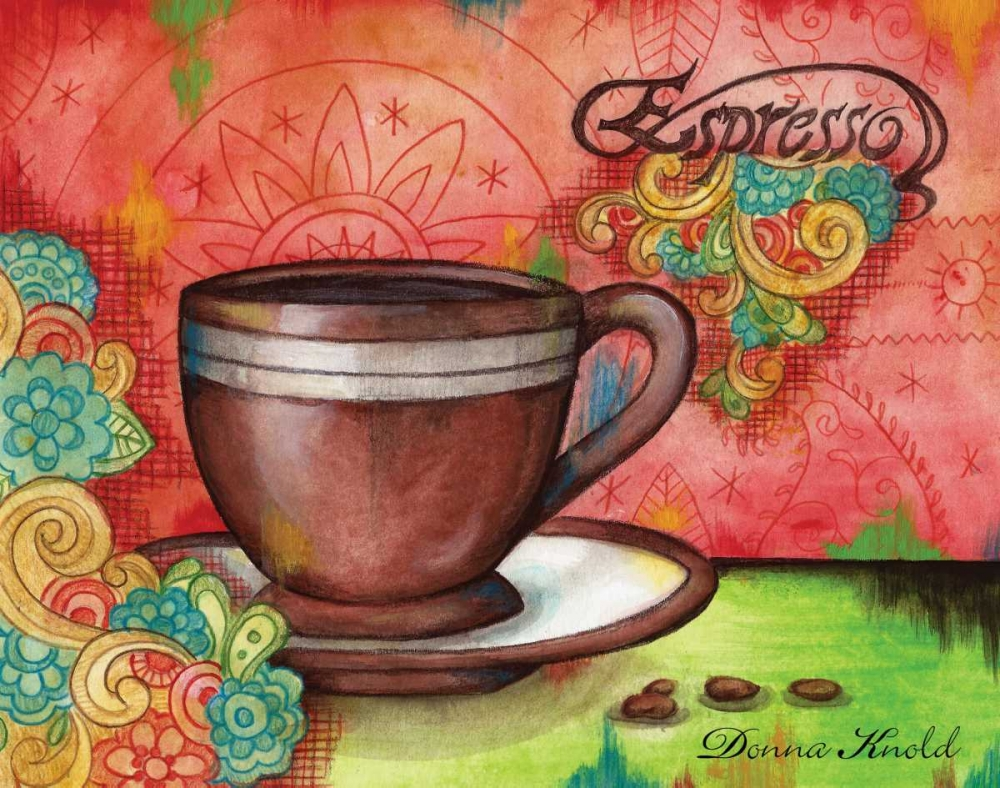 Spring Espresso Knold, Donna 144607