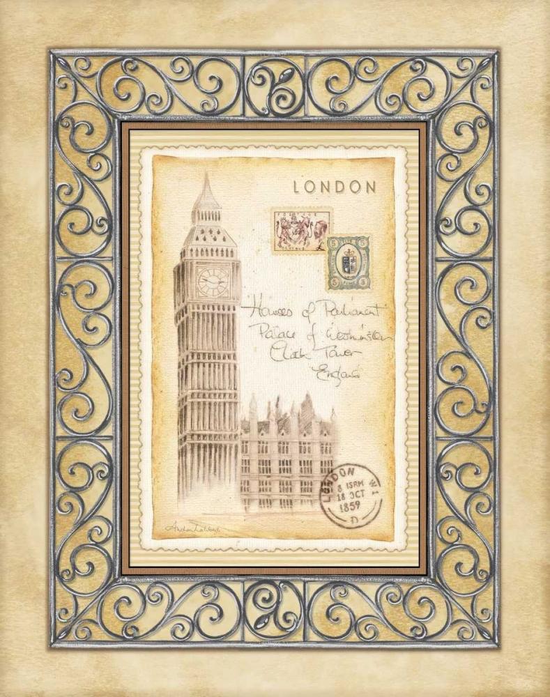 London Postcard Laliberte, Andrea 5835
