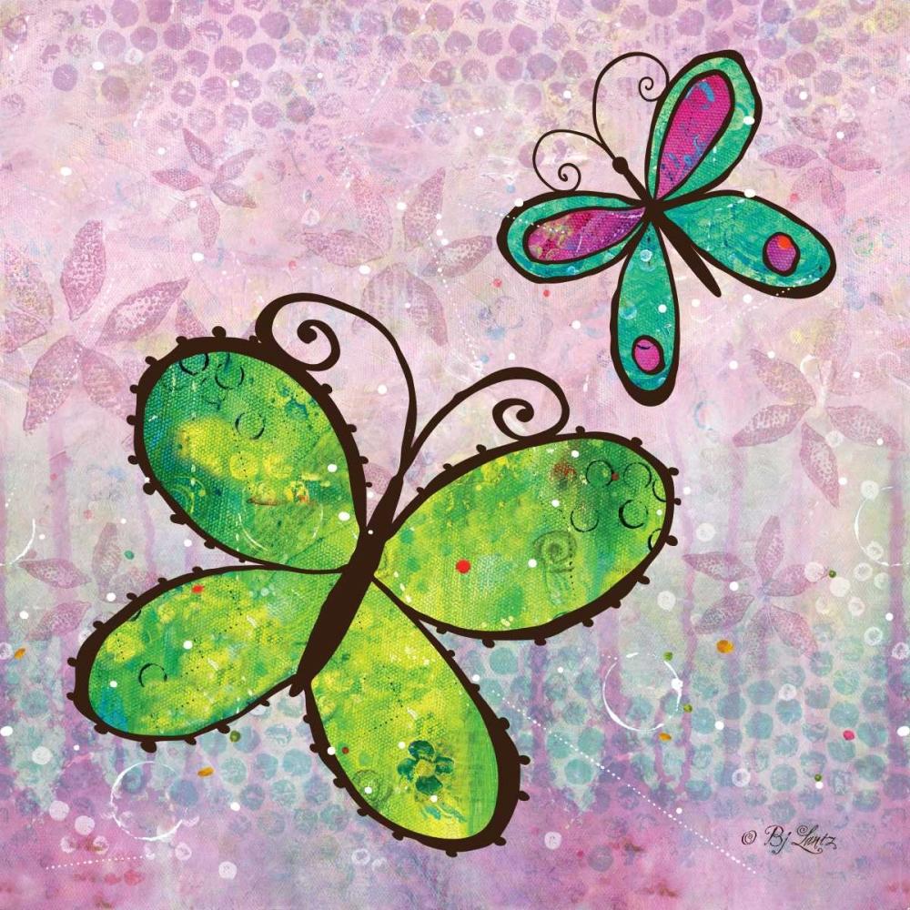 Groovy Butterflies II Lantz, BJ 144692