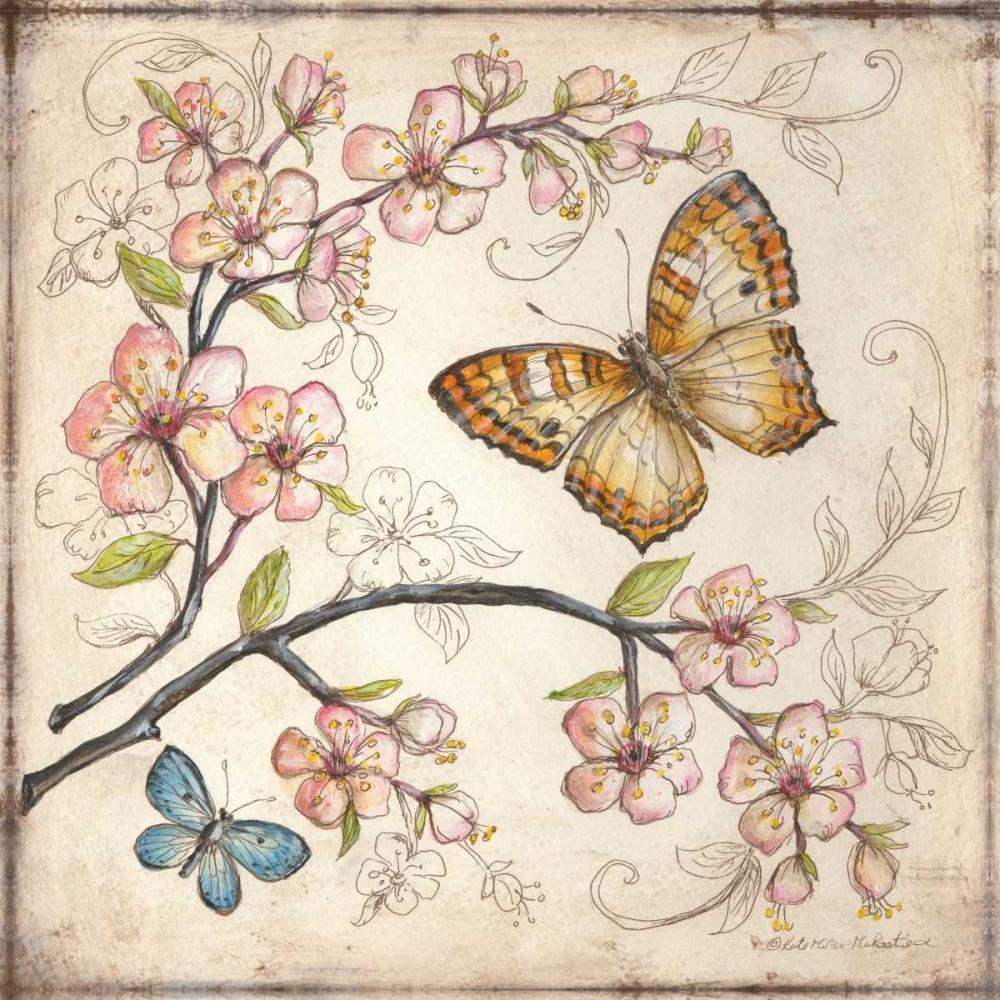 Le Jardin Butterfly II McRostie, Kate 19740