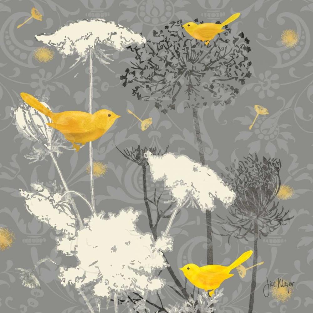 Gray Meadow Lace II Meyer, Jill 14097