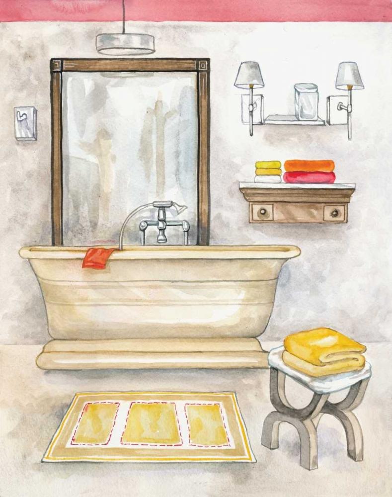 Watercolor Bath II Ferry, Margaret 144934