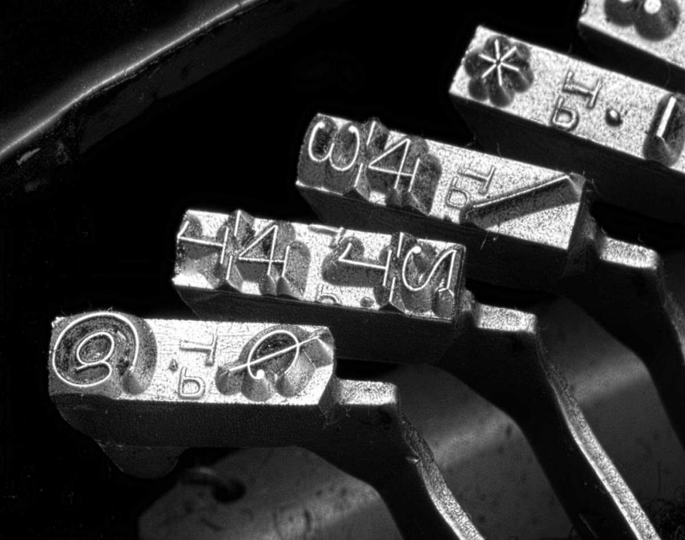 Typewriter Symbols McNemar, C. Thomas 6086