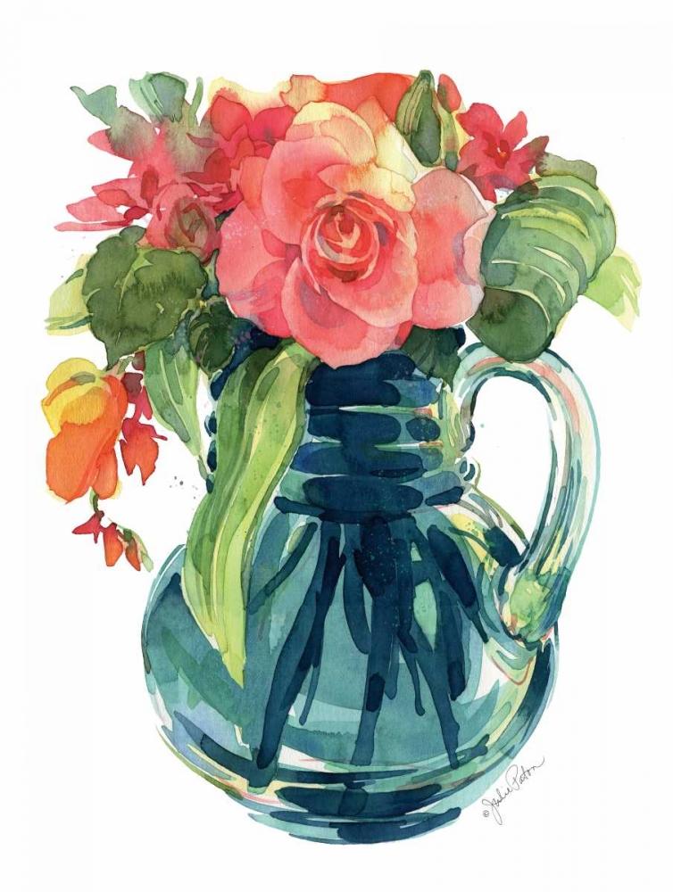 Bright Rose Bouquet I Paton, Julie 145080