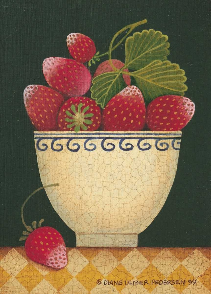 Cup O Strawberries Pedersen, Diane 6286
